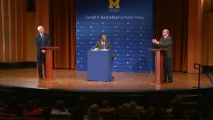 Panel Debate at U of M Ann Arbor