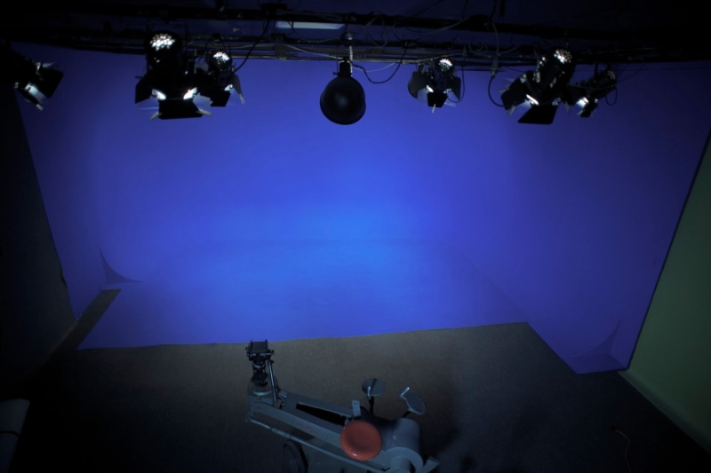 Camelot Studios Blue Screen Chroma Key Area
