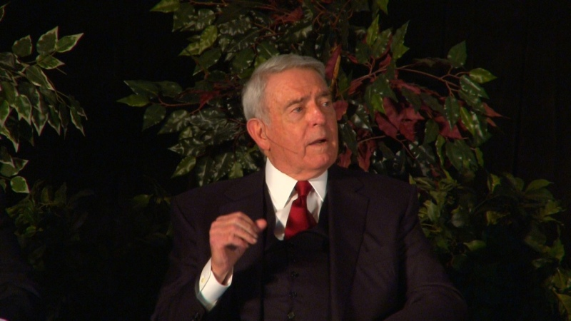 Dan Rather at the  Henry Ford Museum